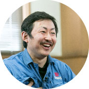 2008年入社 第3製造課 課長 原 幸雄さん